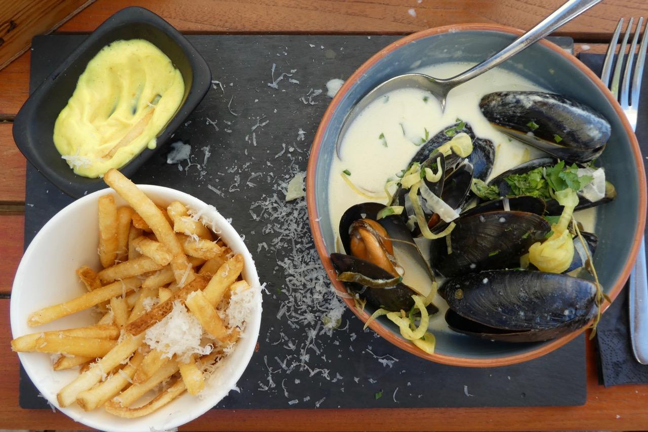 Mariehamn Westküste Restaurant Miesmuscheln