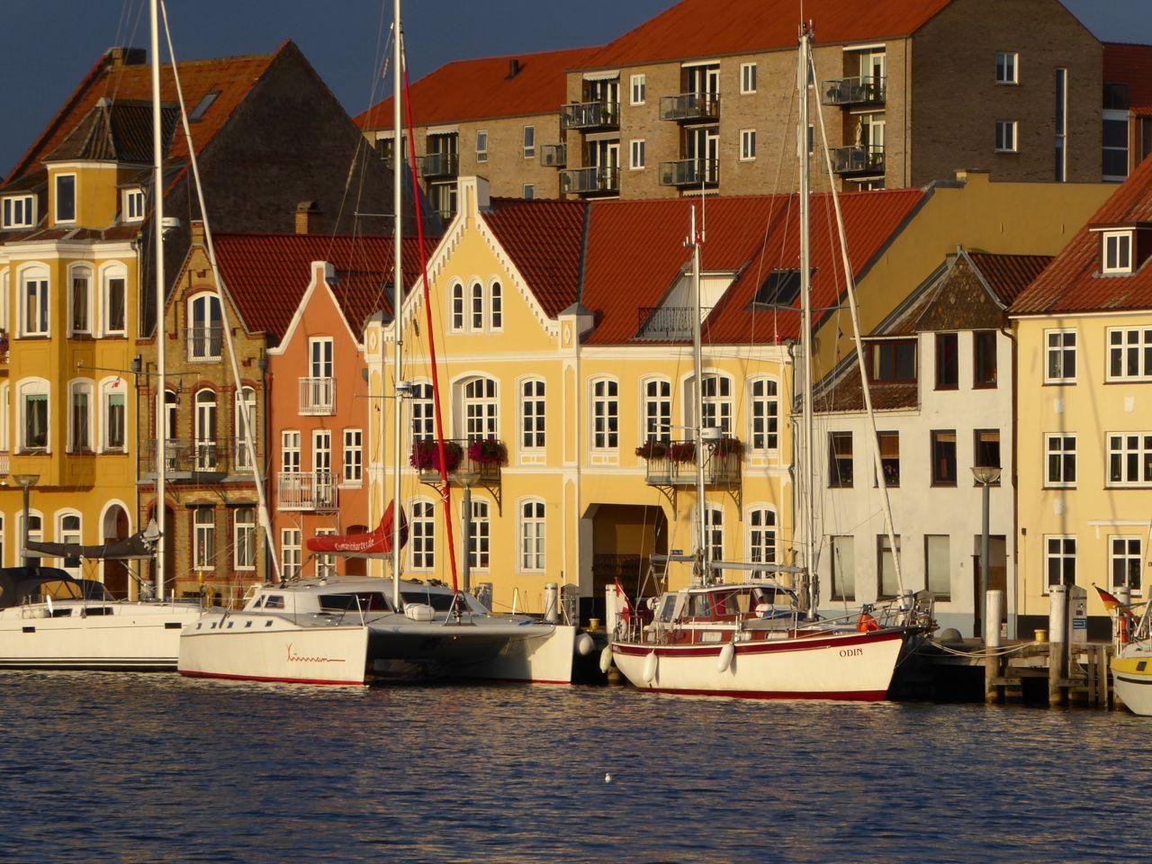 Sonderborg Stadthafen