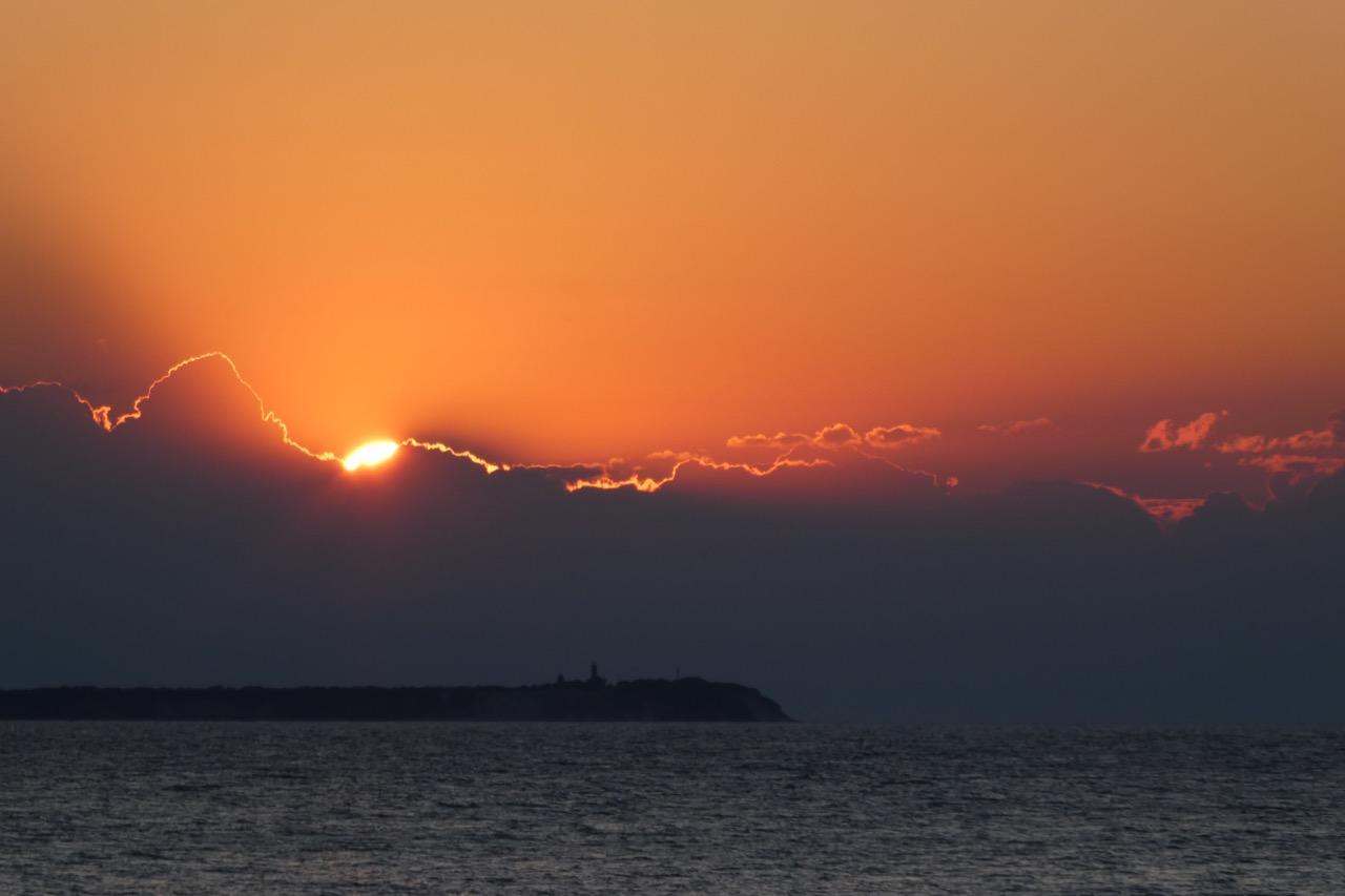 Kap Arkona Sonnenuntergang
