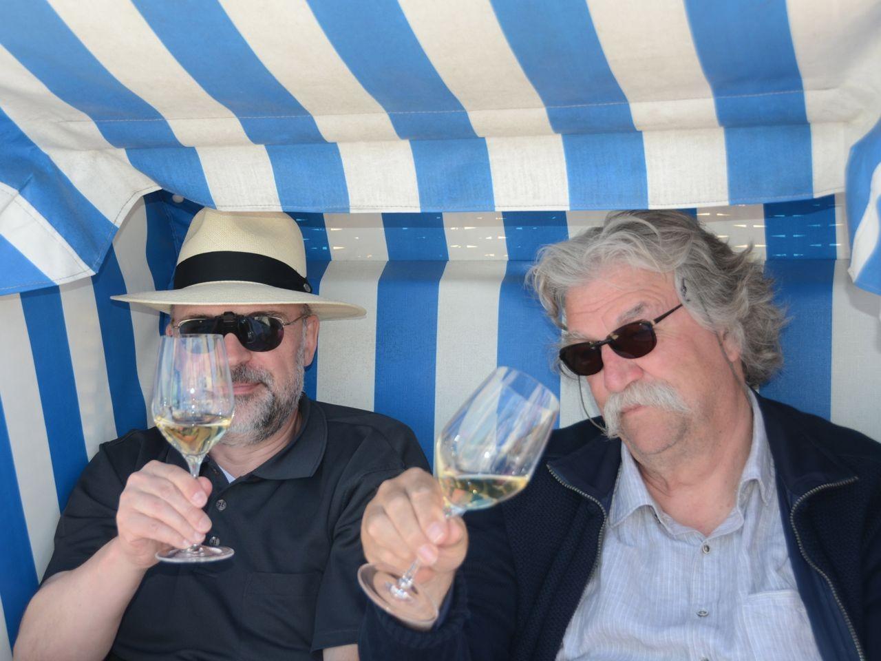 Marno und Peter in Binz