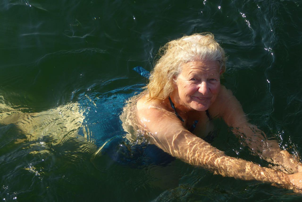 Lille Belt Vreni schwimmen