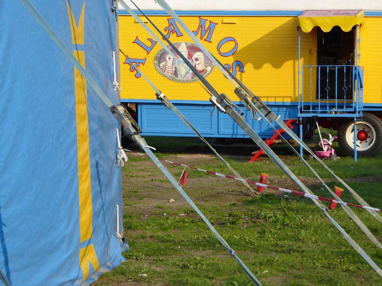 Barth Zirkus im Hafen