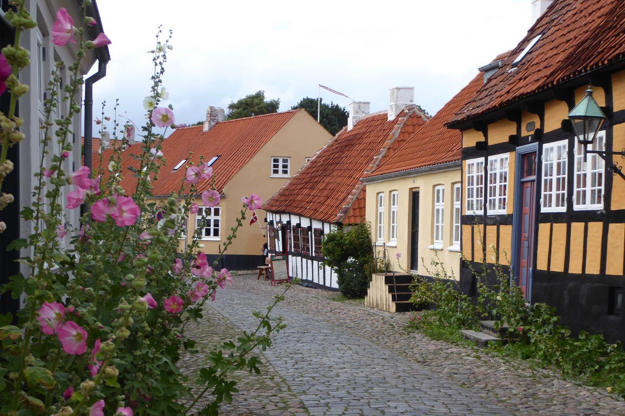 Ebeltoft Stadtgasse