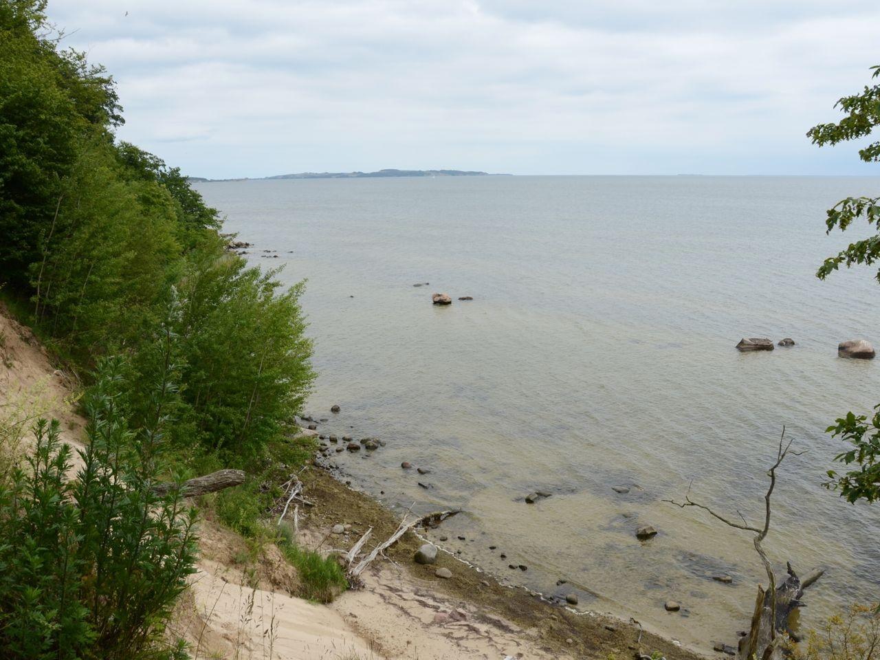 Insel Vilm die Klippen