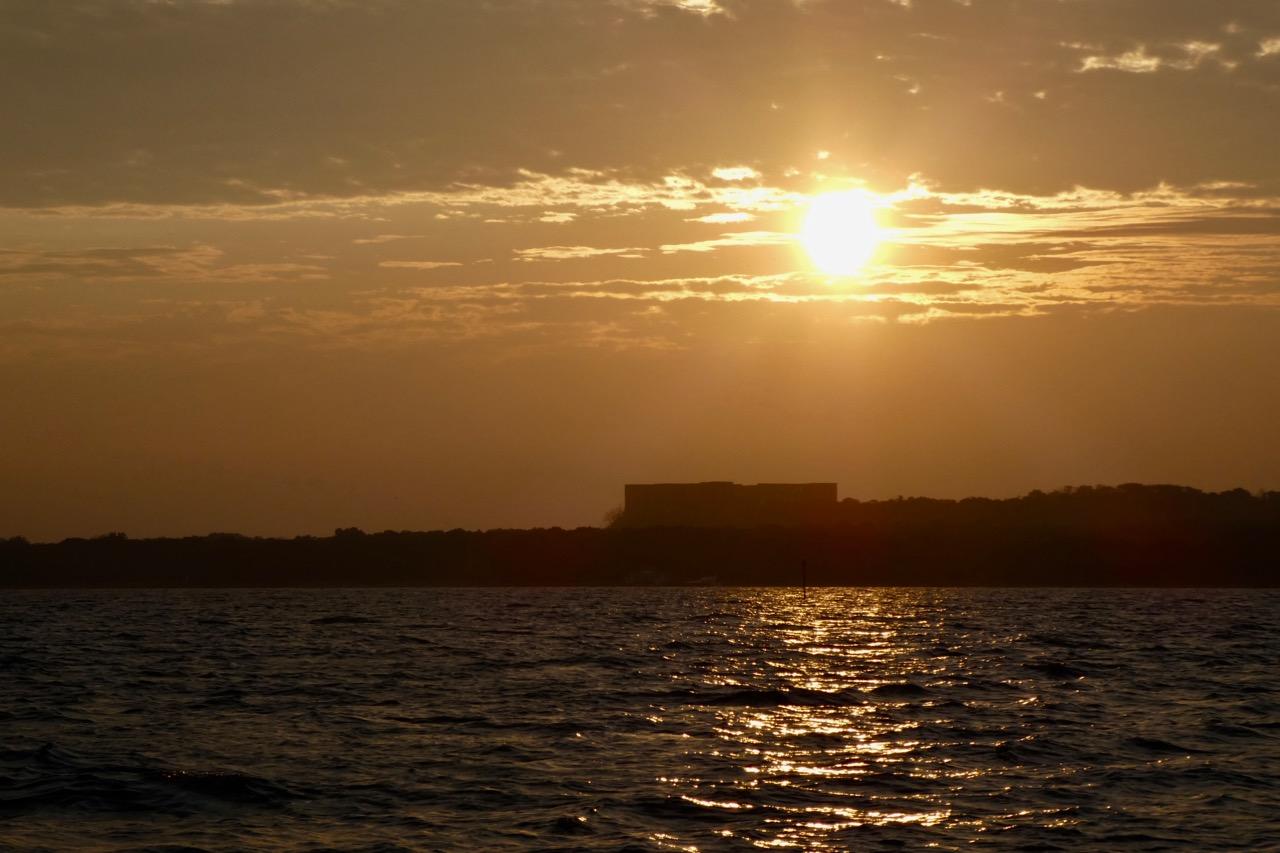 Borgholm Sonnenaufgang