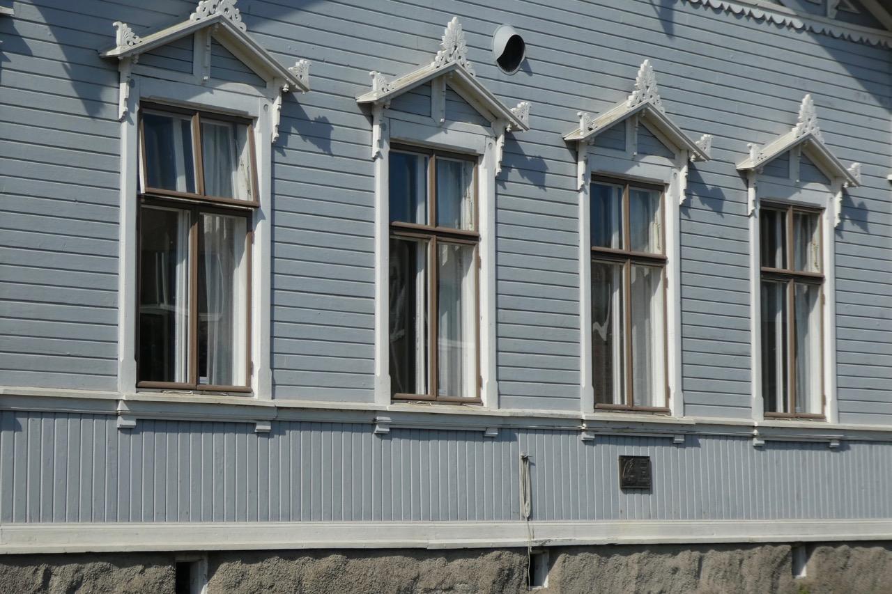 Reposaari Zentrum Fassade