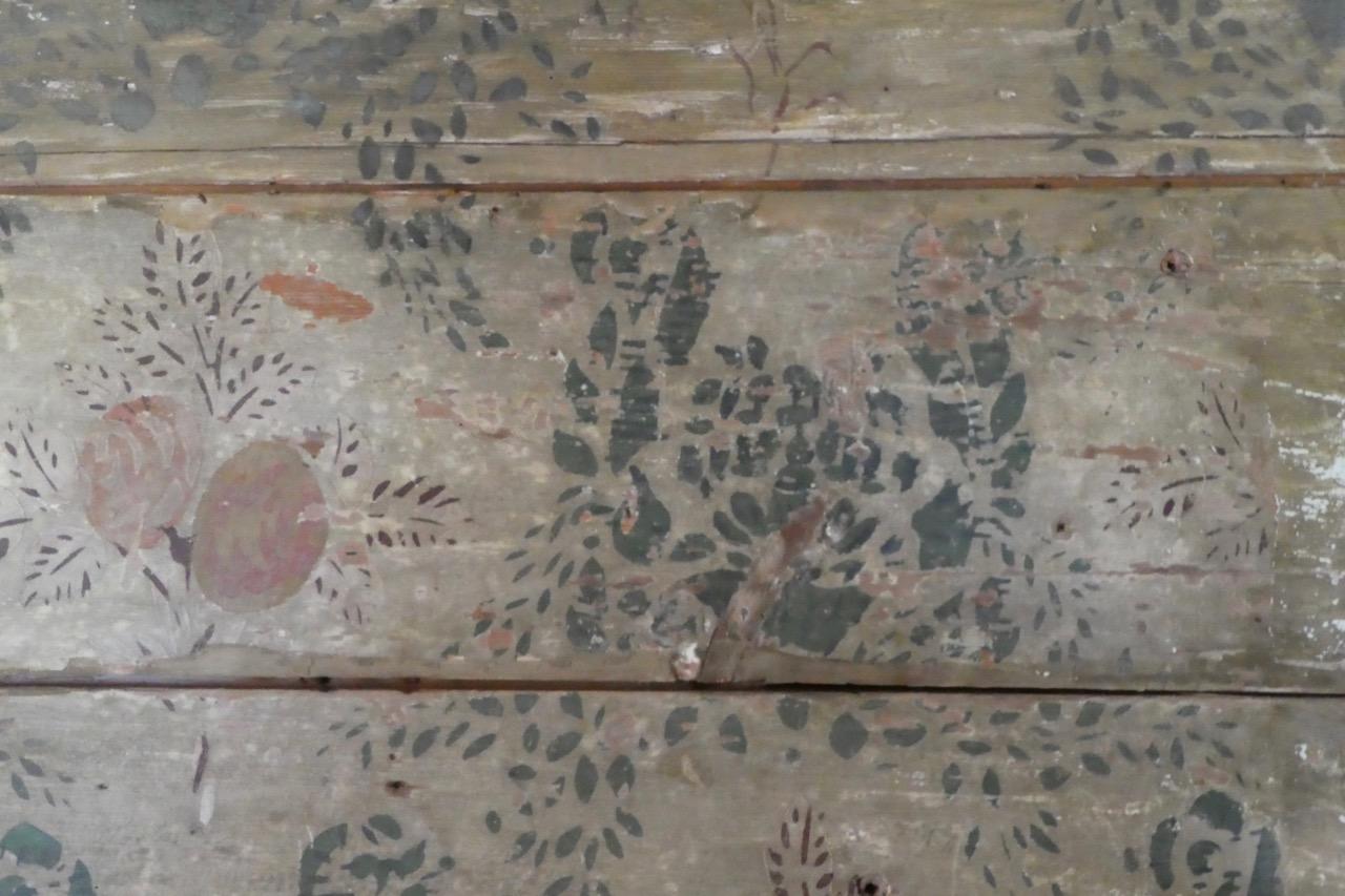 Sundsvall Freilichtmuseum bemalte Wände