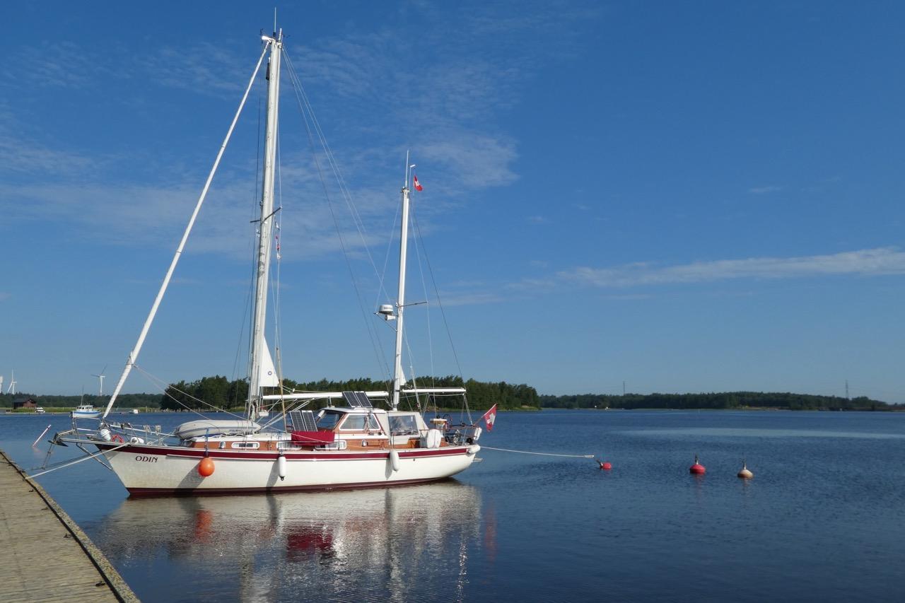 Reposaari Hafen Odin