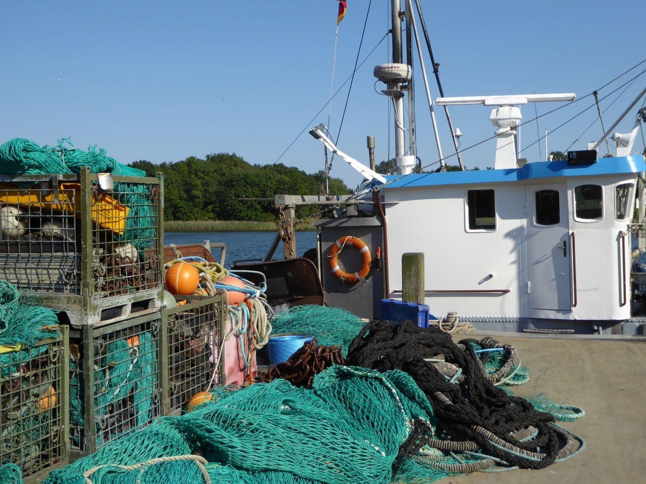 Kappeln im Fischerhafen