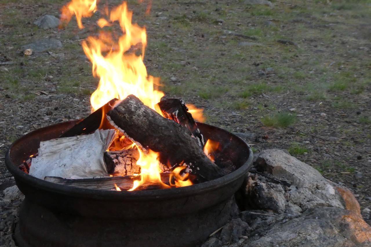 Nävekvarn Schären Grillfeuer