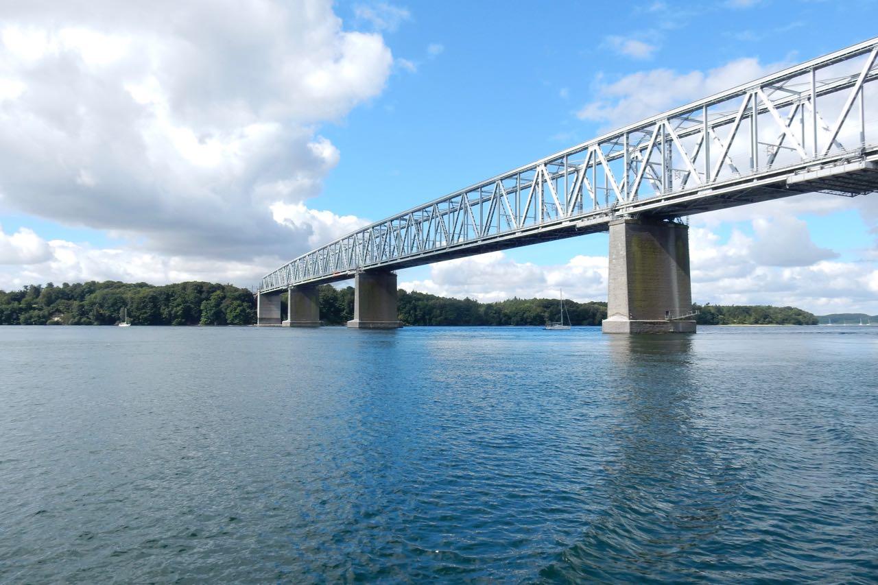 Lille Belt Eisenbahnbrücke