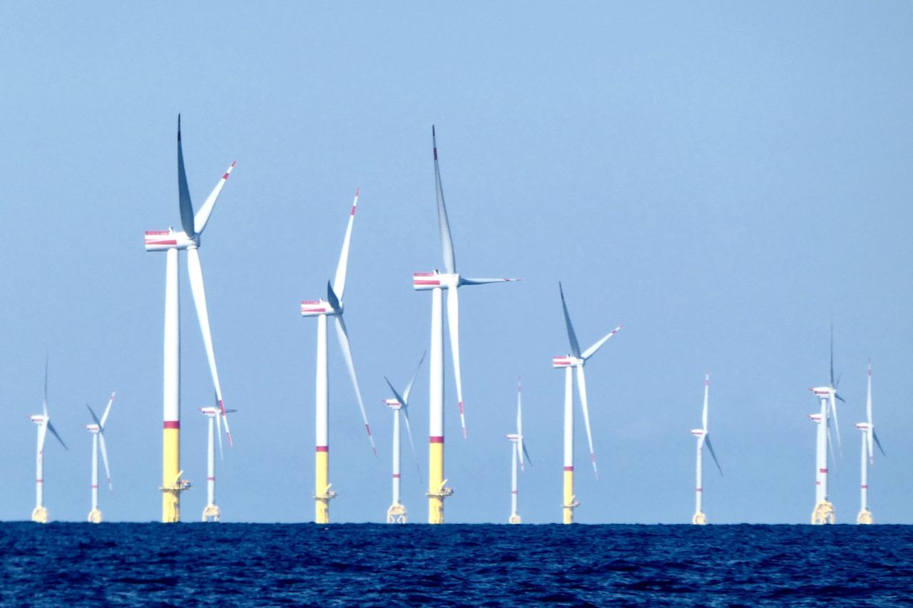 Bornholm Überfahrt Windpark