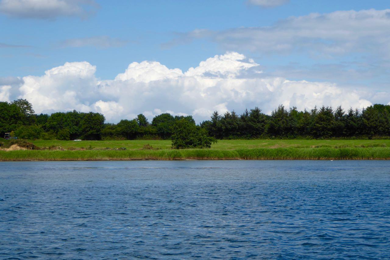 Haderslevfjord Landschaft