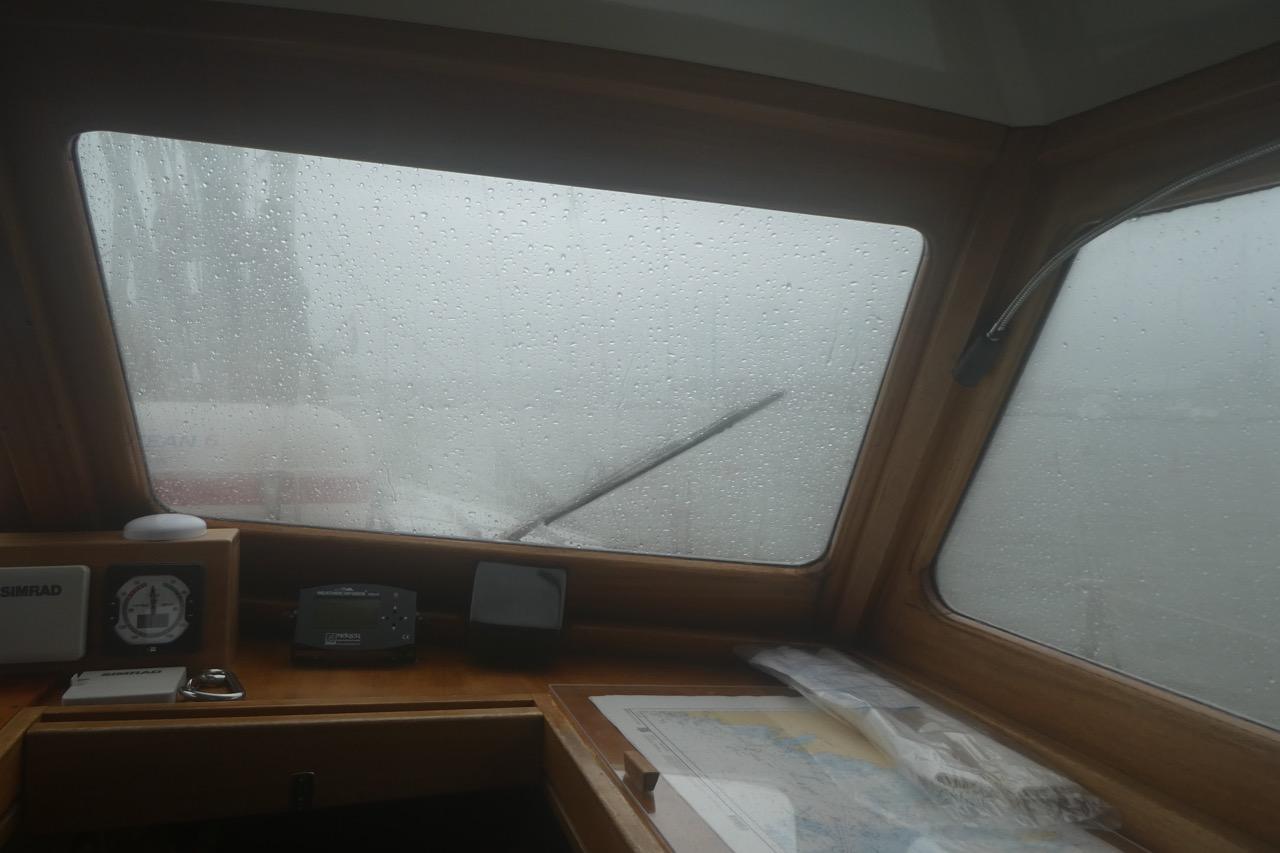 Vaasa Unwetter im Hafen