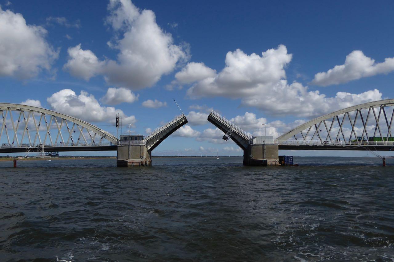 Limfjorden Zugbrücke