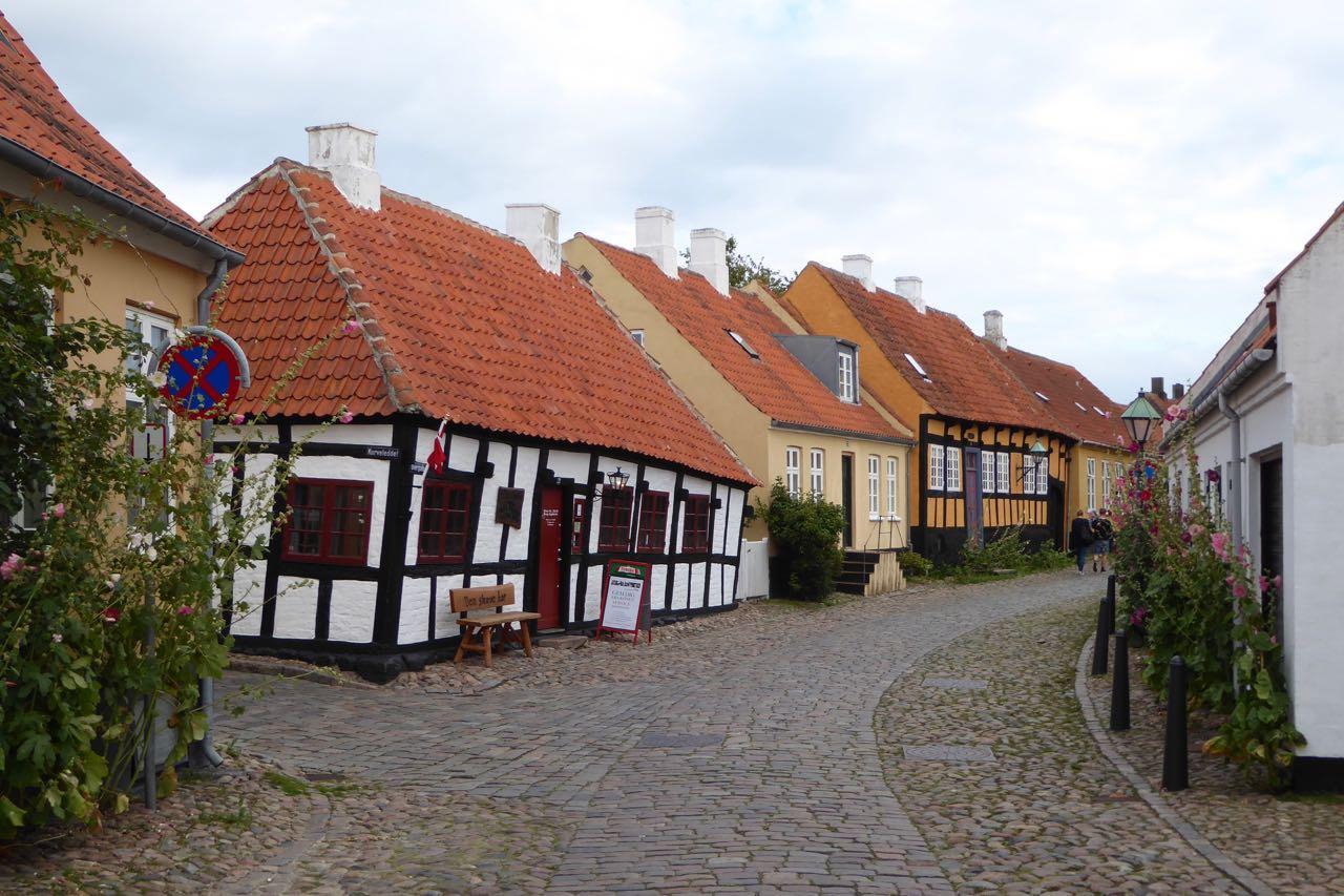 Ebeltoft malerische Stadt