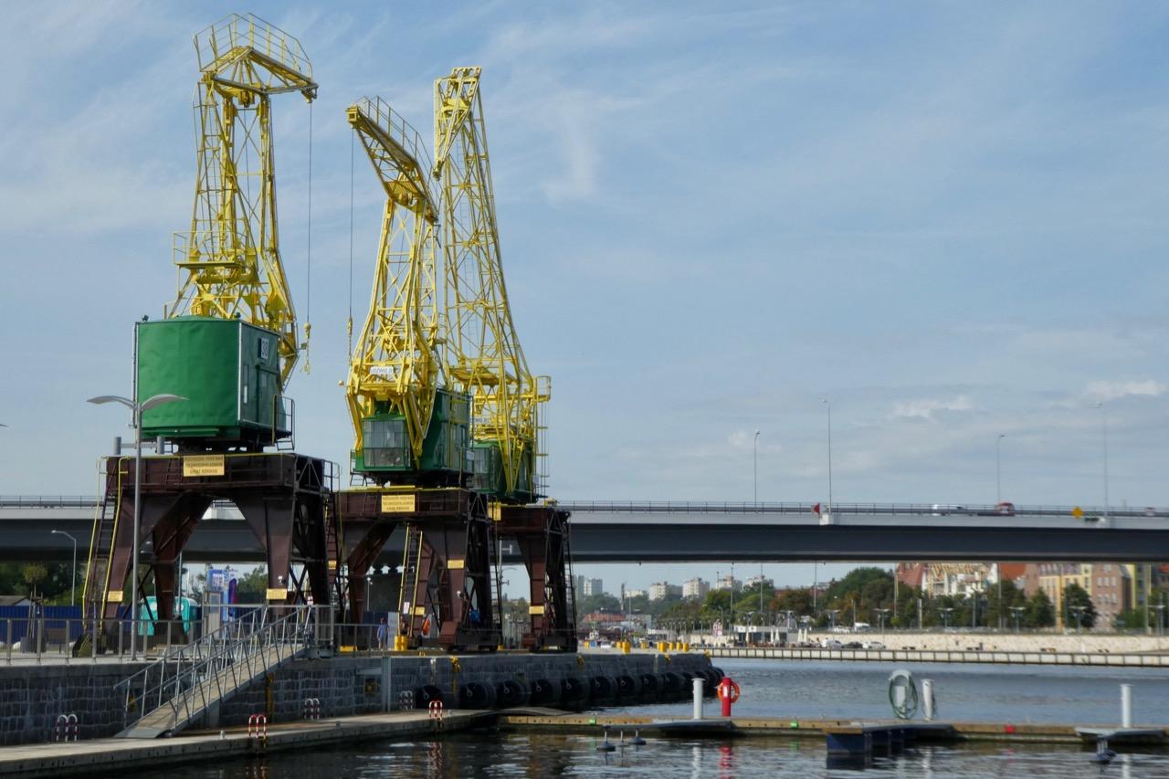 Stettin Hafenkran