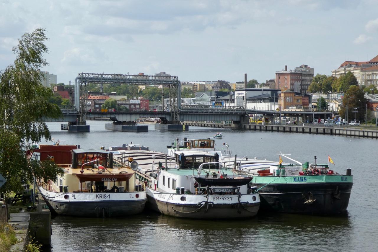 Stettin Frachtschiffe