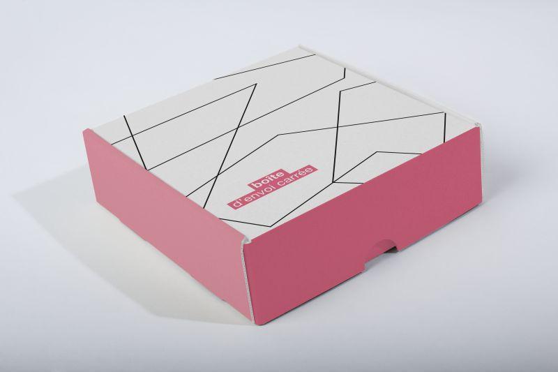 Boîte d'envoi carrée