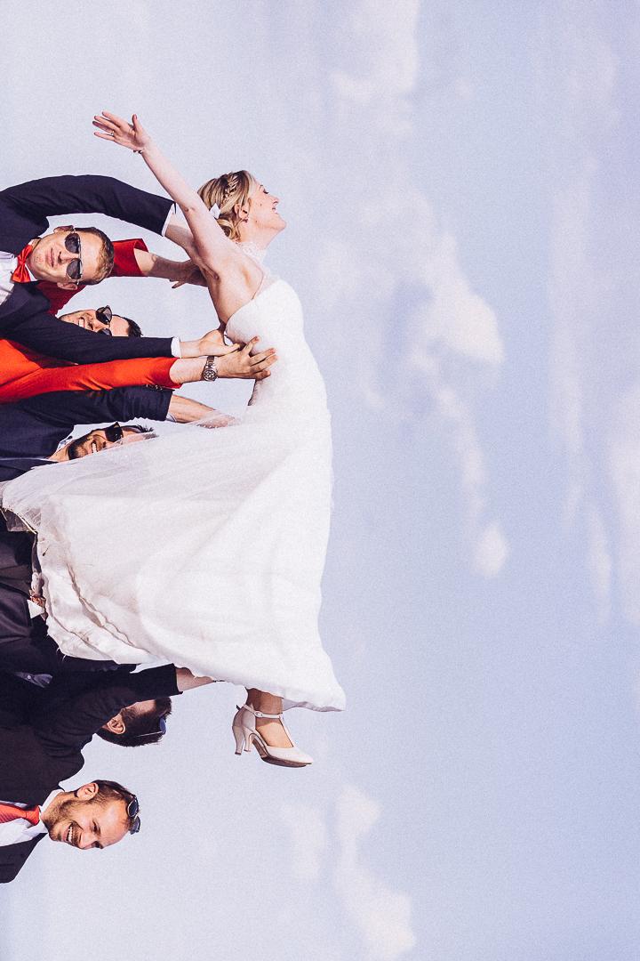 mariage portrait mariée
