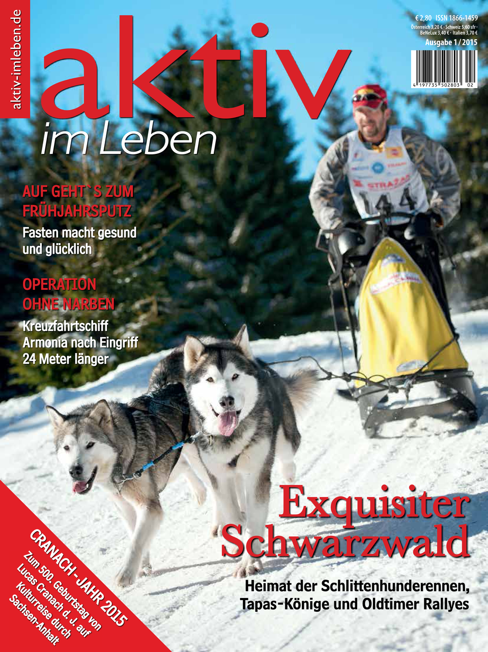 Aktiv im Leben - Ausgabe 1/2015