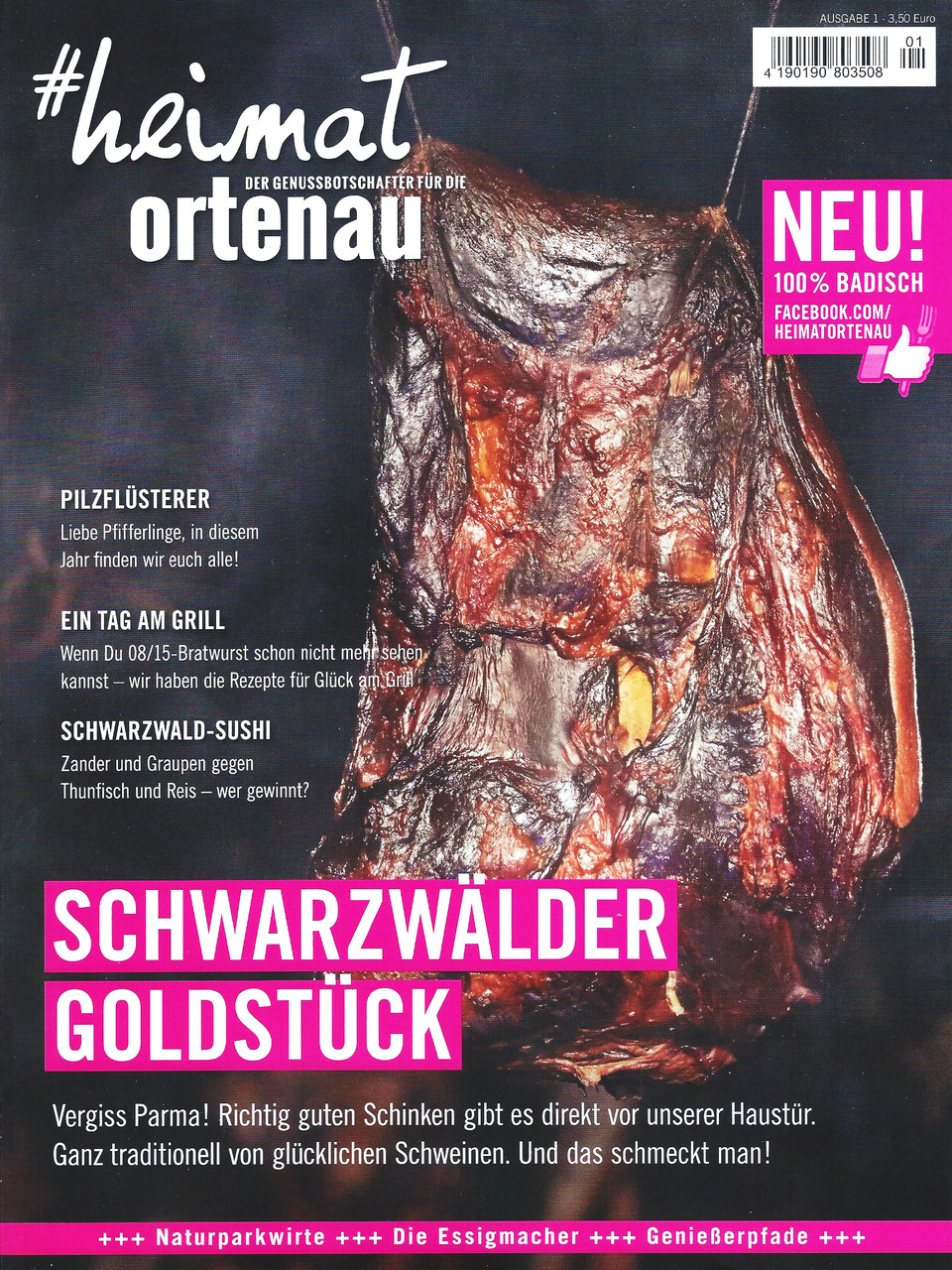 heimat Ortenau - Ausgabe 1/2015