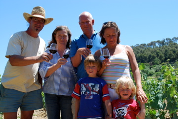 De Familie Tournier en van den Broek in de Wijngaard