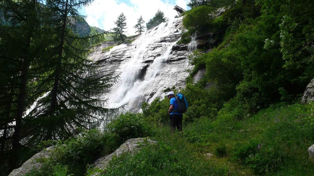 Tossa Wasserfall