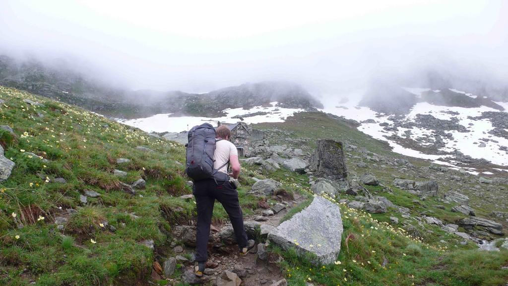 Aufstieg zum Albrunpass