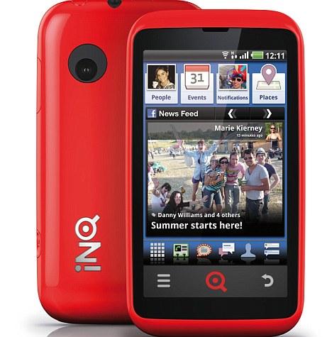 Facebook phones: INQ's Cloud Touch