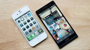 Huawei Ascend P6 vs iPhone 5
