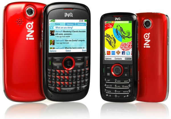 INQ Mini 3G and INQ Chat