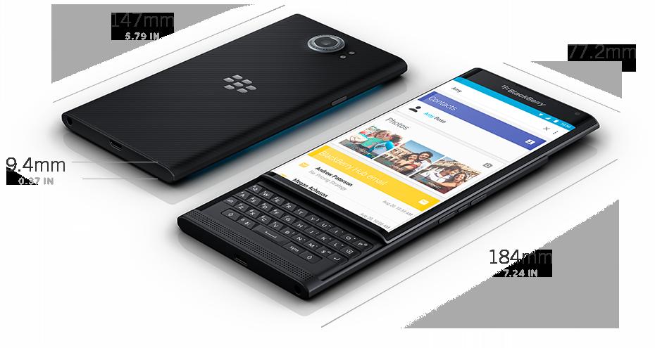 Blackberry Priv. Одна из первых