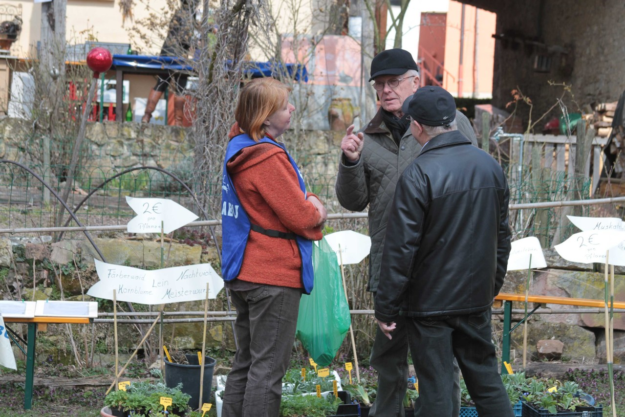 Pflanzenverkauf bei Susanne