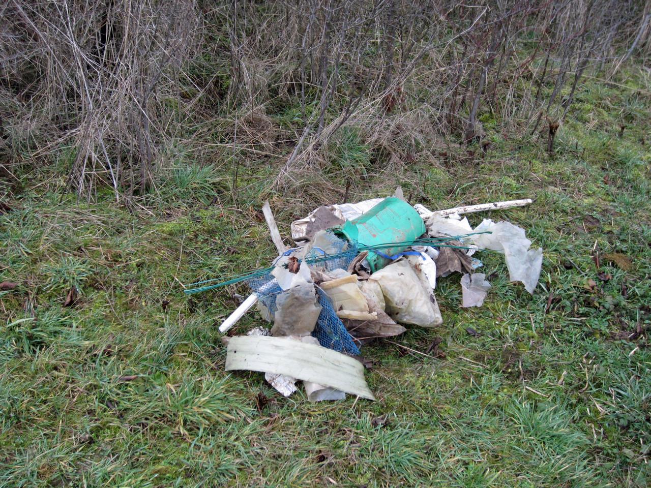 wir haben viel Müll gefunden - Gerhard Buchinger