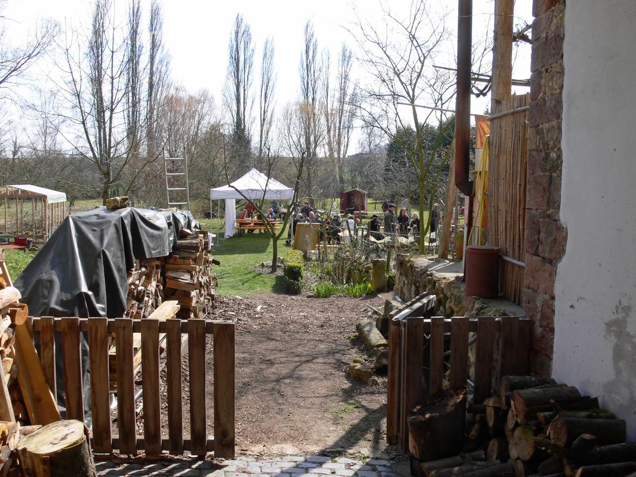 Frühlingsfest in dem tollen Grundstück von Reiner und Anette