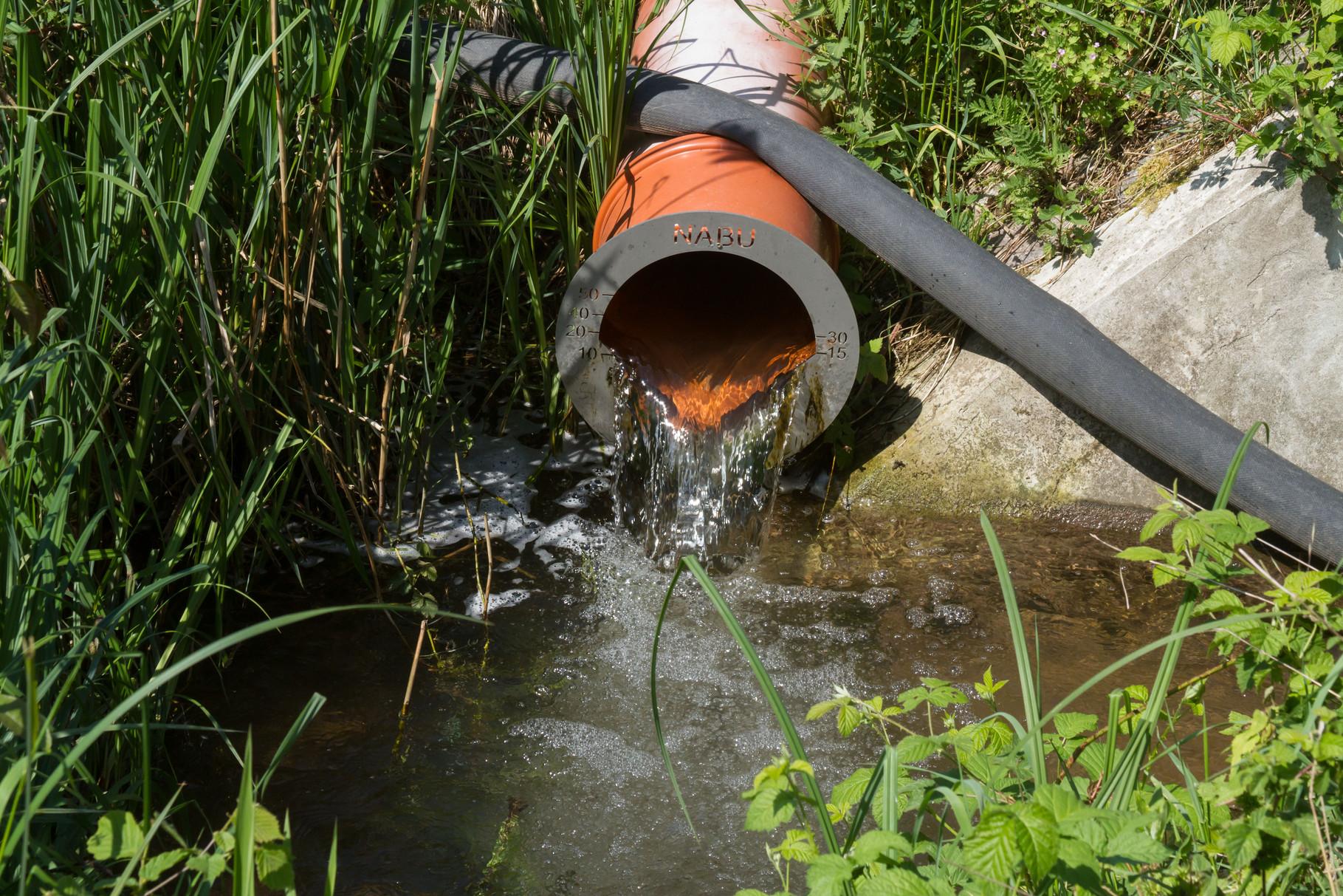 Wassereinleitung Fronmühle