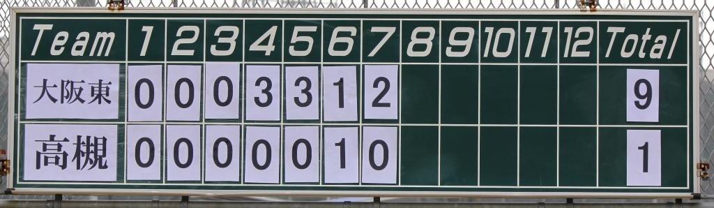 見事9-1でジャガースが勝利!