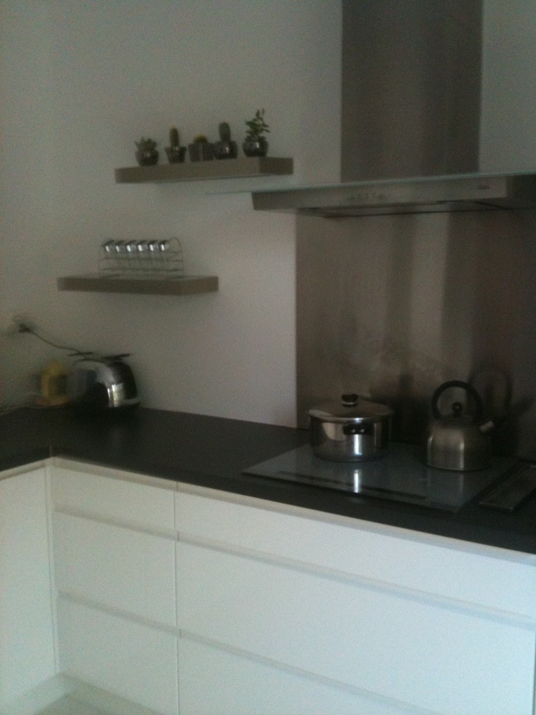 cuisine design coté cuisson
