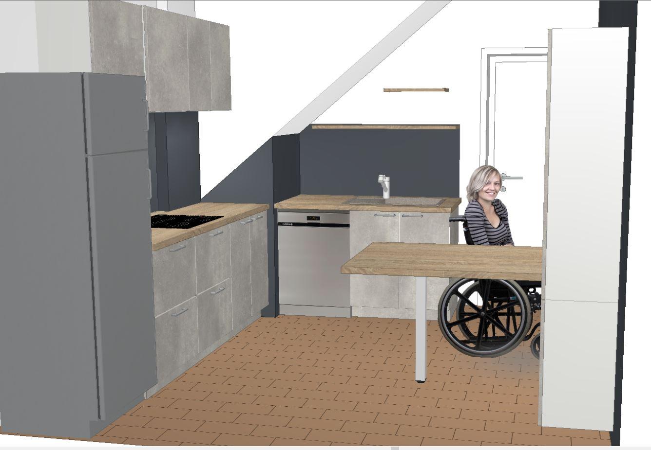 visuel 3D du projet