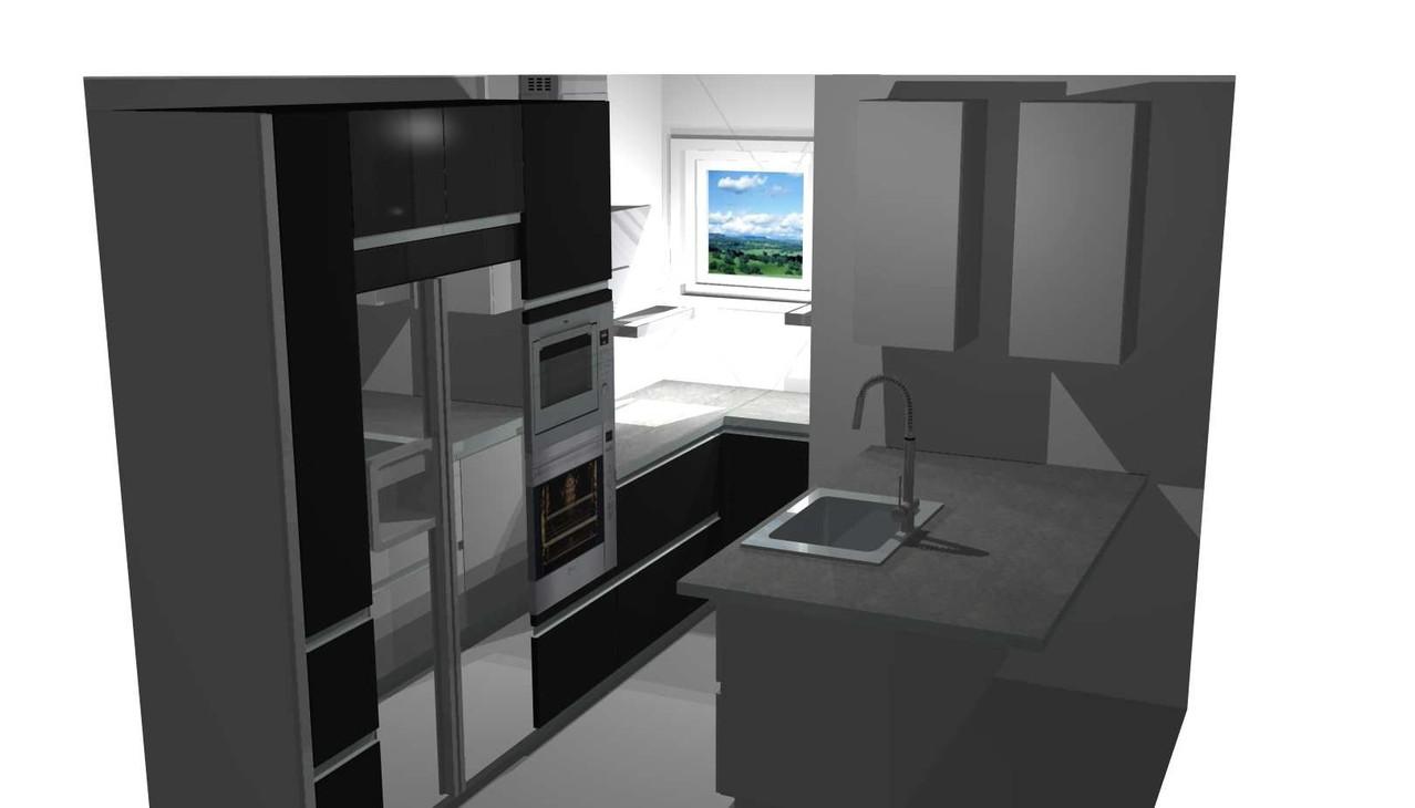 visuel 3D par Cuisine interieur design Toulouse