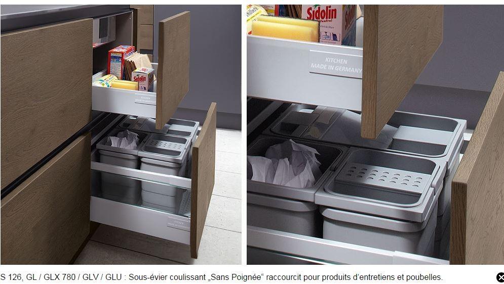 aménagement de tiroirs poubelle