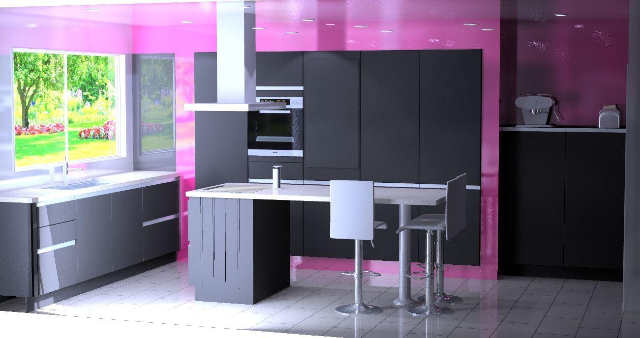 cuisine design visuel 3D