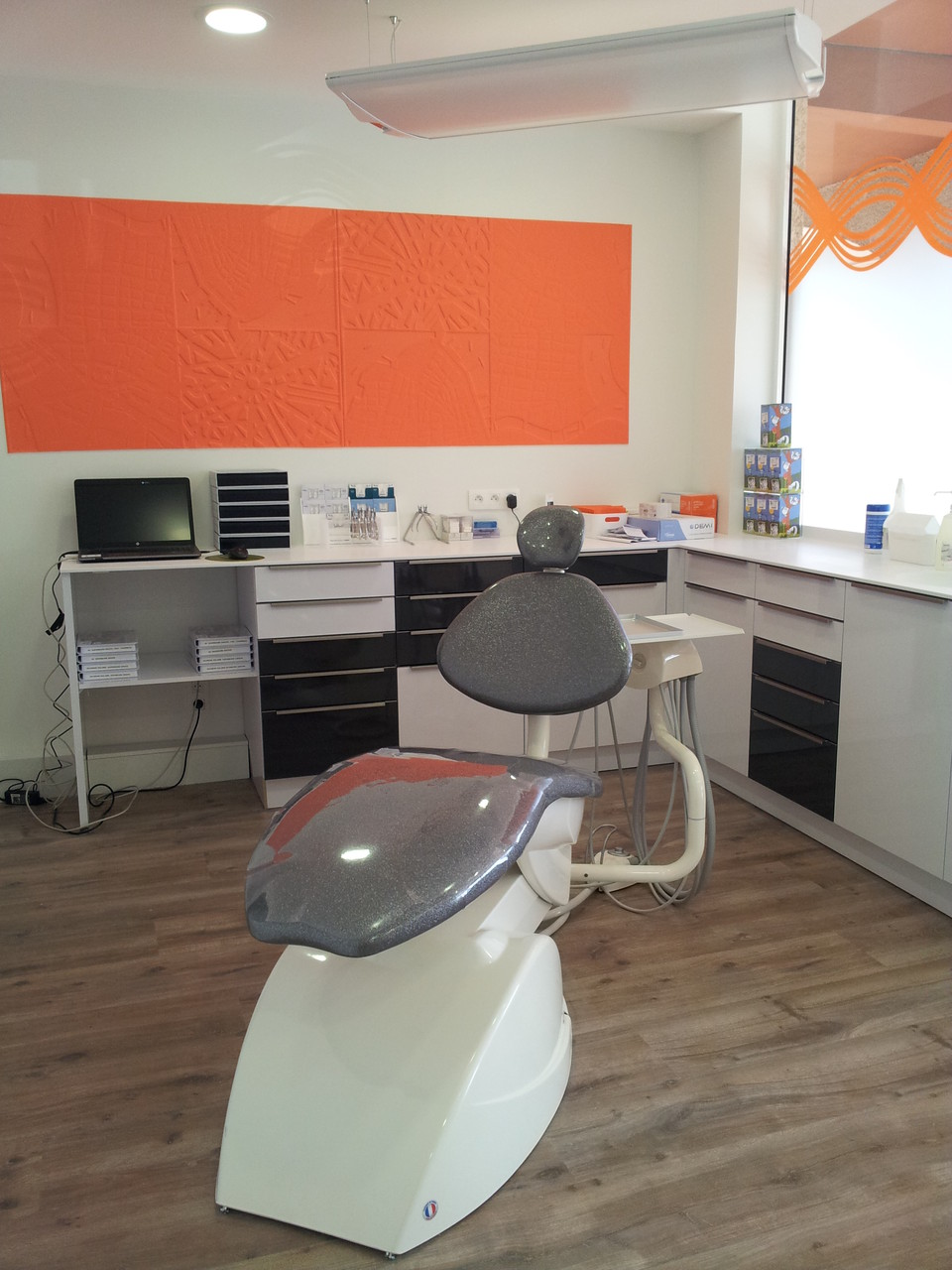 cabinet dentaire plan en corian