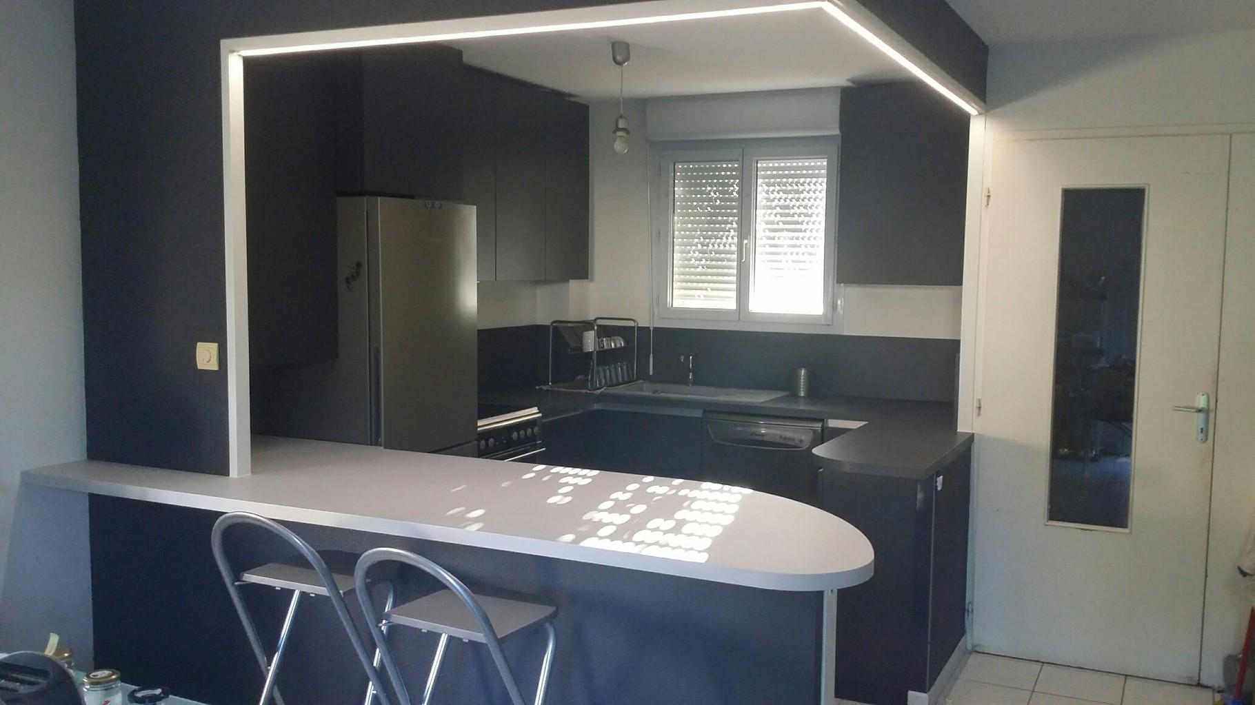 cuisine esprit loft par cuisine design Toulouse 31