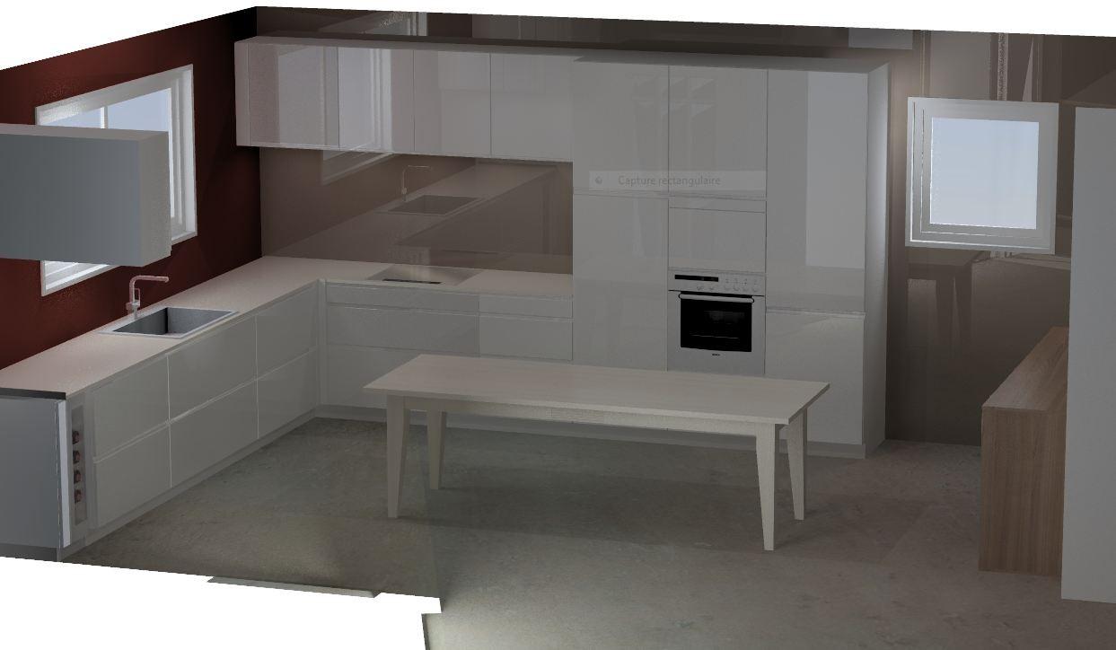 cuisine design sans poignées Cuisine interieur design Toulouse