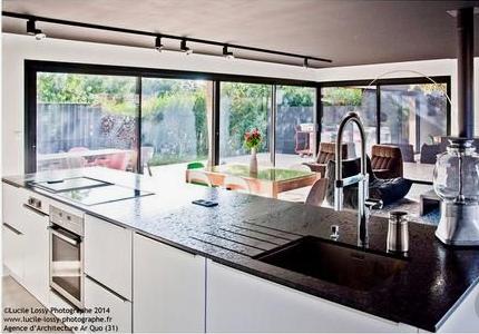 parution dans : maison & décoration et Hubert magazine