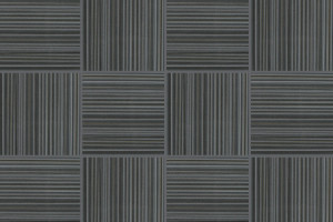 Grey striped porcelain tiles
