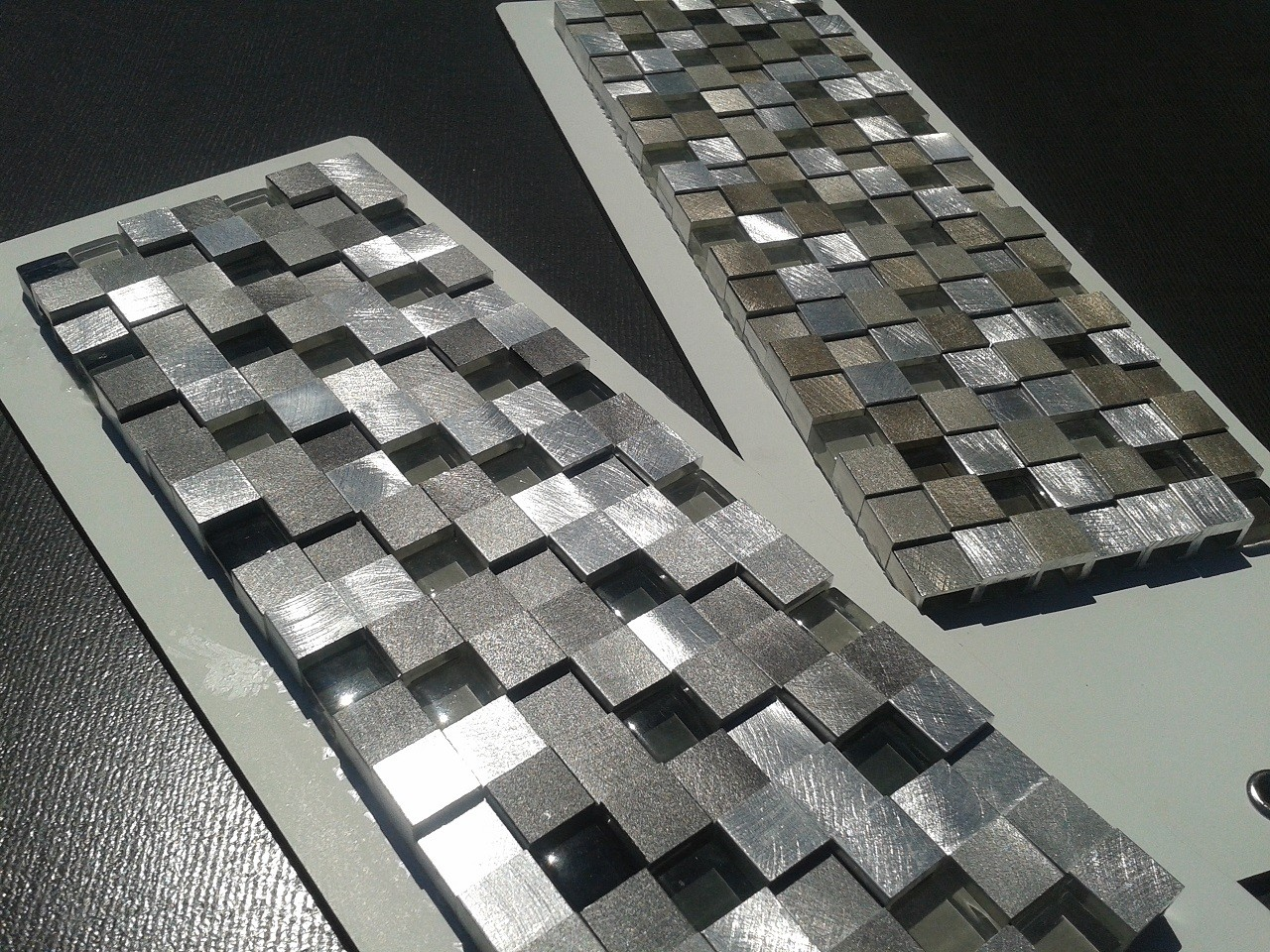 Stainless Steel Mosaics Amp Tiles Tile Lines