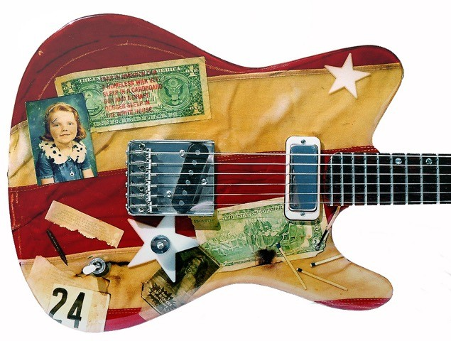Flaguitar #3 - Patriot Annie